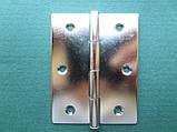 Нержавіюча петля дверна (товщина 0,8 мм)., фото 2
