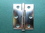 Нержавіюча петля дверна (товщина 0,8 мм)., фото 3