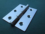 Нержавіюча петля дверна (товщина 0,8 мм)., фото 4