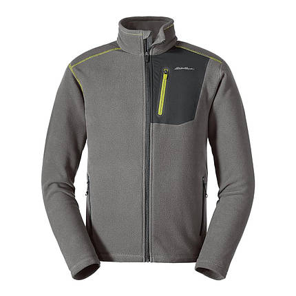 Флисовая кофта мужская  Eddie Bauer Men Cloud Layer Pro Full-Zip Jacket CHROME, фото 2