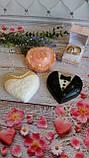 Пластиковая форма для мыла Сердца-молодожены, фото 2