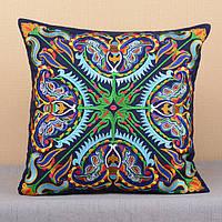 Декоративная наволочка для подушки на диван
