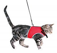 Trixie (Трикси) Cat Soft Harness with Leash Мягкая шлея и поводок для котов 24-42 см