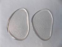 Силиконовые (гелевые) стельки под переднюю часть стопы