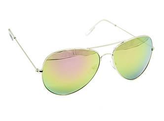 """Солнцезащитные очки унисекс """"Aras"""" Цвет - розово-зеленый"""