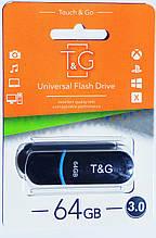 Флешка USB 3.0 T&G, Jet series 012, 64GB, черная