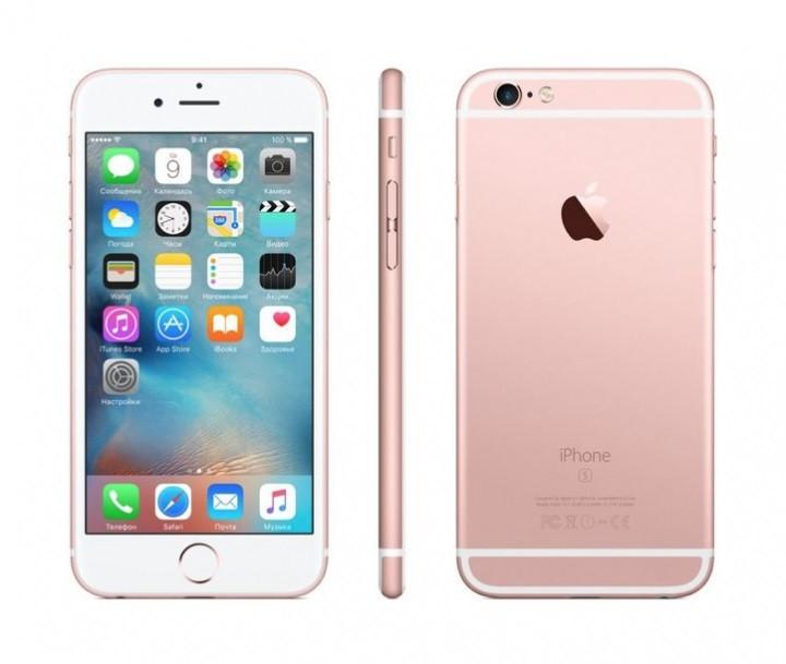 IPhone 6s 16GB Rose Gold.Полный комплект + коробка