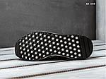 Мужские кроссовки Adidas Iniki Runner Boost (черно/белые), фото 3