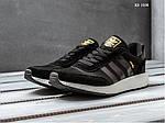Мужские кроссовки Adidas Iniki Runner Boost (черно/белые), фото 2