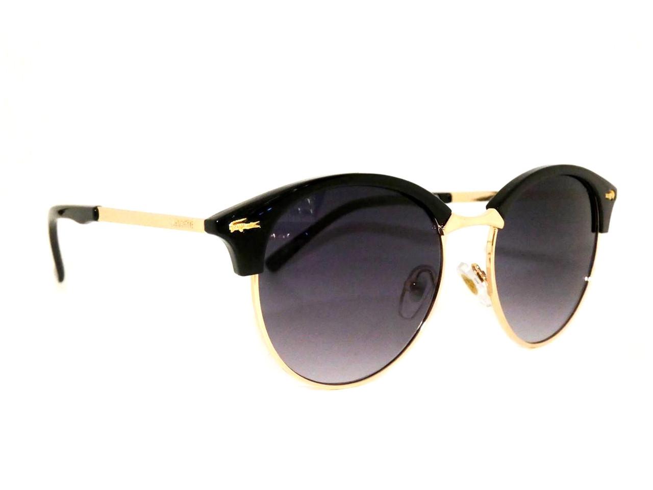 """Солнцезащитные очки унисекс """"Lacoste"""" Цвет - черный"""