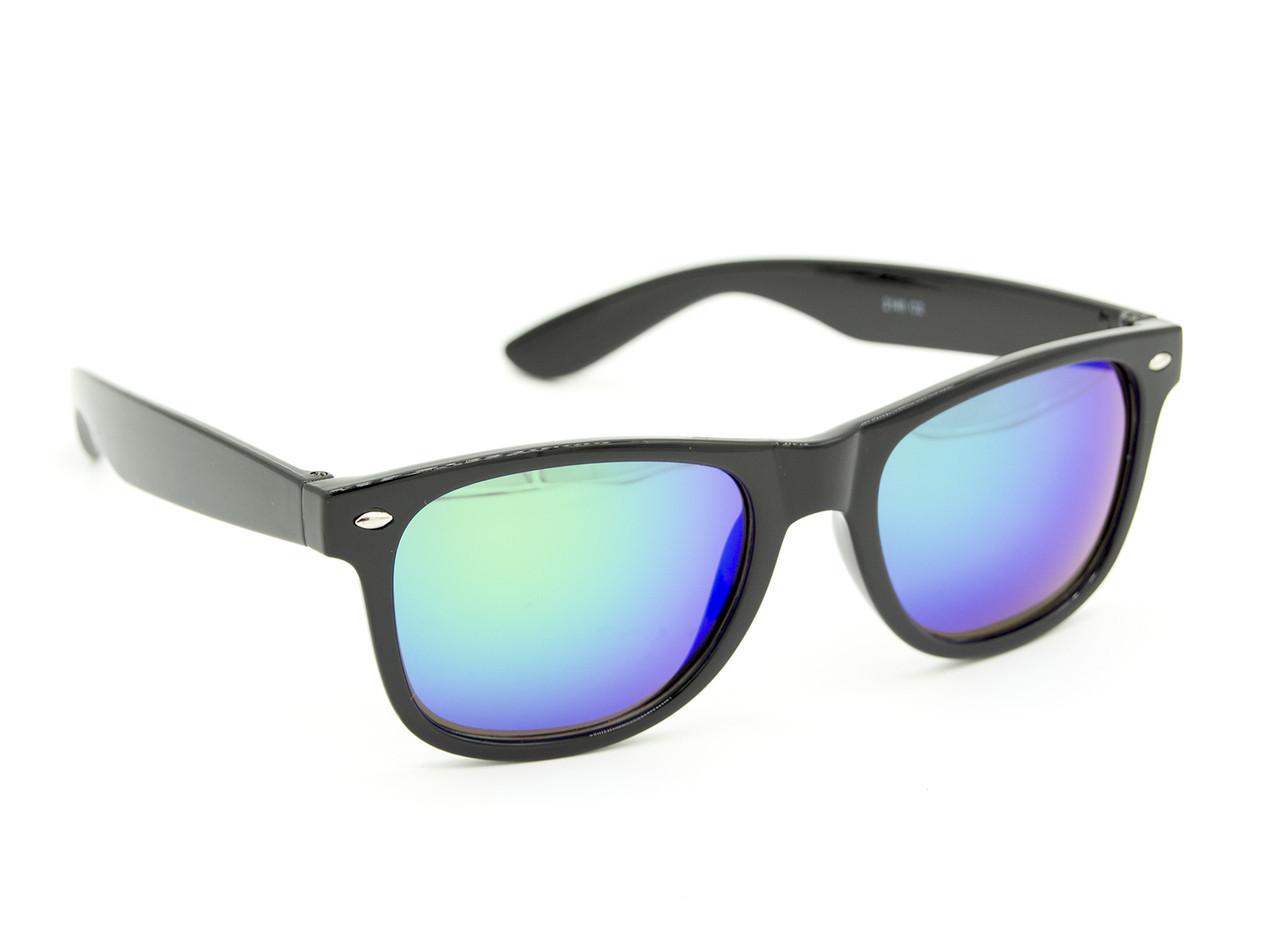 """Солнцезащитные очки унисекс """"Aras"""" Цвет - сине-зеленый"""