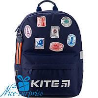 Рюкзак для мальчика с ортопедической спинкой Kite Trips K19-719M-3, фото 1