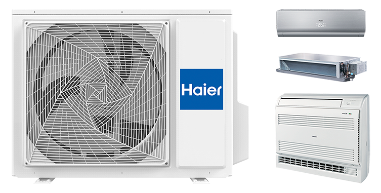 Наружный блок HAIER Outdoor Unit 3U24GS3ERA Invertor (мульти-сплит система)