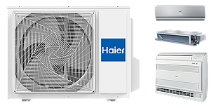 Наружный блок HAIER Outdoor Unit 3U24GS3ERA Invertor (мульти-сплит система), фото 2