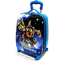 """Детский чемодан дорожный """"Josef Otten"""" Transformers на четырех колесах 520202"""