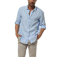c1fe69fb875 Рубаха льняная голубая или другого цвета на выбор XS-6XXL