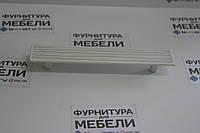 Ручка 96mm SIRA Белая-Белая с полосами