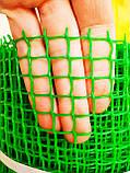 """Сетка садовая, пластиковая, ячейка 13х13мм, 1х20м. """"Клевер"""" (Украина), фото 3"""