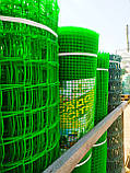 """Сетка садовая, пластиковая, ячейка 13х13мм, 1х20м. """"Клевер"""" (Украина), фото 7"""