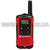 Рация Motorola TLKR T40 (0.5W, PMR446, 446 MHz, до 4 км, 8 каналов, 3xAAA), черная
