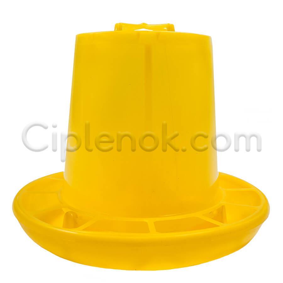 Бункерная кормушка 2,1 л / 1,4 кг желт.