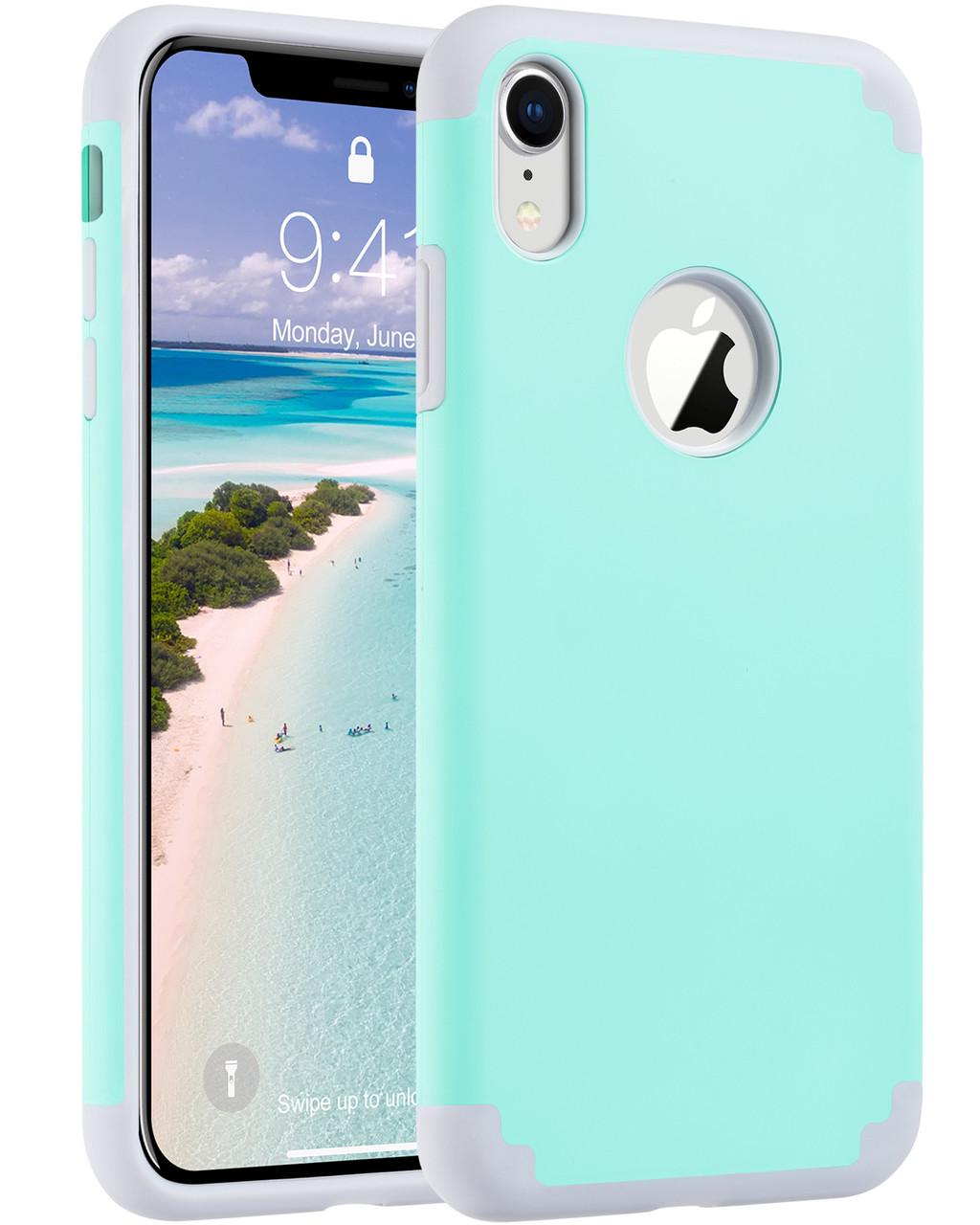 Защитный чехол для Apple iPhone XR 2018 6,1 дюйма ментоловый