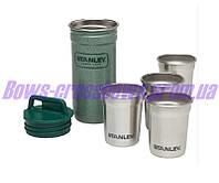 Набор из 4 рюмок нержавеющая сталь Stanley США