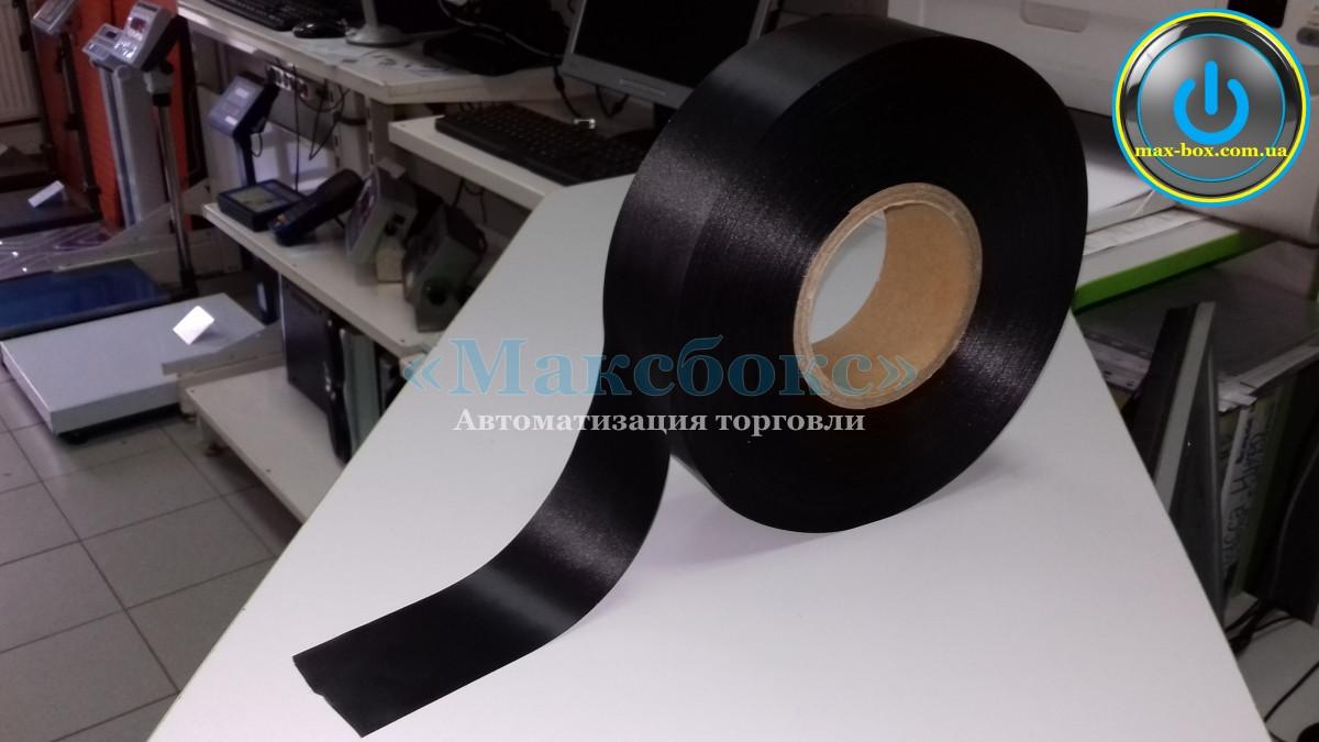 Сатинова текстильна стрічка чорна 15 х 183 SRF101BD