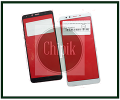 Стекло для переклейки дисплея Xiaomi Redmi 5, Белое