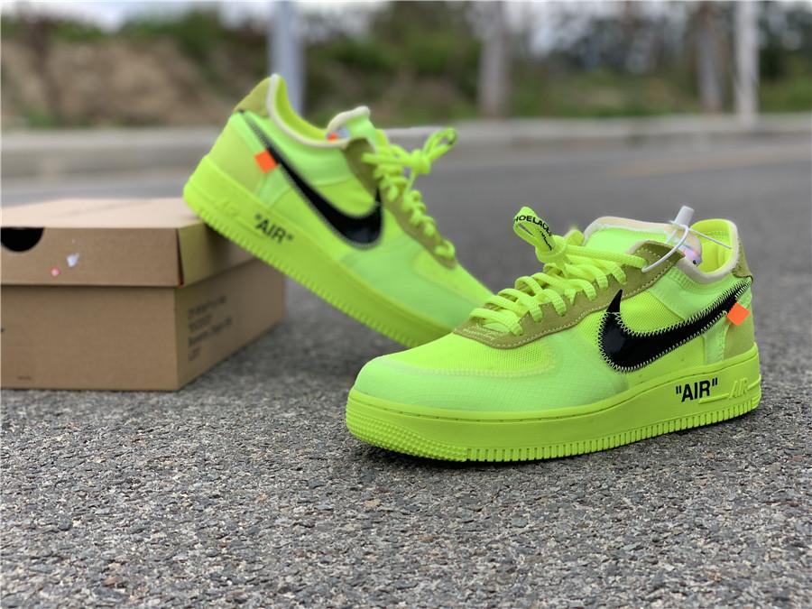 Off White x Nike Air Force 1 Volt