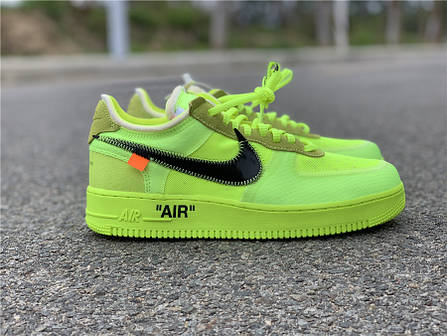 31b93df8 Кроссовки Off-White x Nike Air Force 1 Low Volt