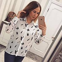 Блуза шифоновая 2090
