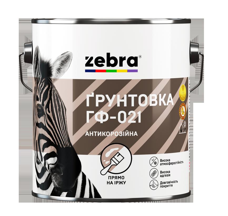 Грунт по металлу ГФ-021 антикоррозионный 0.9 кг