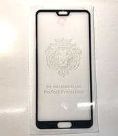 Защитное стекло для Huawei P20 Pro 3D Black черное Full Glue