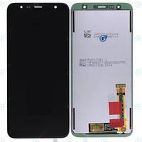 Дисплей для Samsung J415F Galaxy J4 Plus (2018)/J610F Galaxy J6 Plus с тачскрином черный Оригинал