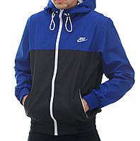 Мужская куртка ветровка Nike Найк синяя
