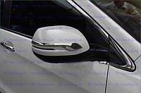 Накладки на зеркала Honda CR-V 2012- хромированные
