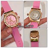Часы в стиле Х@блот женские розовые, фото 2