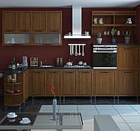 Кухня София Плаза комплект 2м орех светлый Сокме