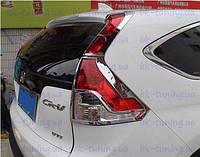 Хром накладки на фонари Хонда СРВ 2012-