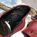 Красные ботинки на каблуках, фото 5
