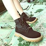 Черные удобные ботинки, фото 2