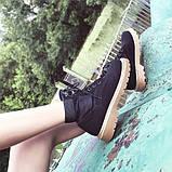 Черные удобные ботинки, фото 4