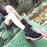 Черные удобные ботинки, фото 5