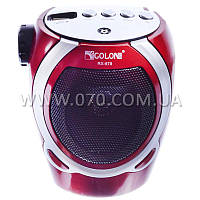 3 в 1 Портативный MP3 плеер, FM радио, фонарь (SD, USB, аудио вход)