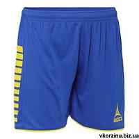 Шорты женские Select Argentina player shorts сине-желтые