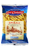 Макароны Del Castello Спиральки обычные 500 г