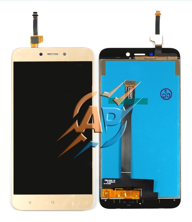 Модуль сенсор + дисплей Xiaomi Redmi 4X золотой