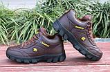 Мужские коричневые зимние кроссовки, фото 2