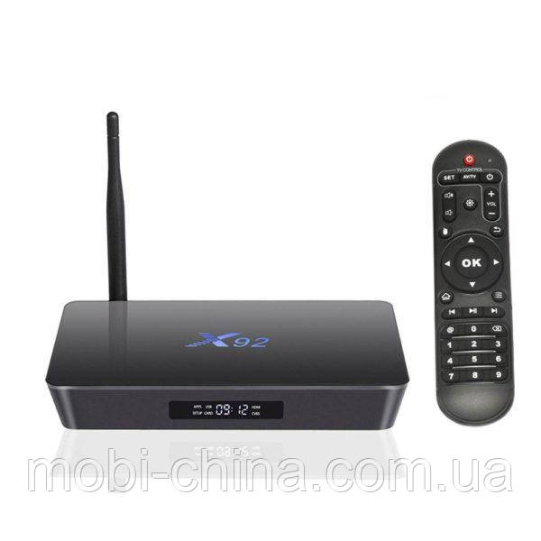 Смарт ТВ приставка X92 3+32ГБ